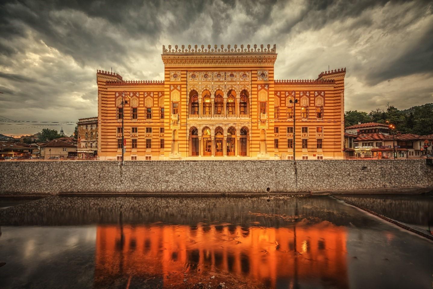 Vijećnica (City Hall) – University Sarajevo